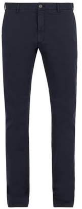 J.w.brine J.W. Brine J.w. Brine - Owen Cotton Blend Chino Trousers - Mens - Navy