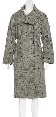 Charles Chang-Lima Wool-Blend Long Coat
