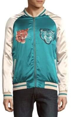 Hyden Yoo Colorblock Long-Sleeve Jacket