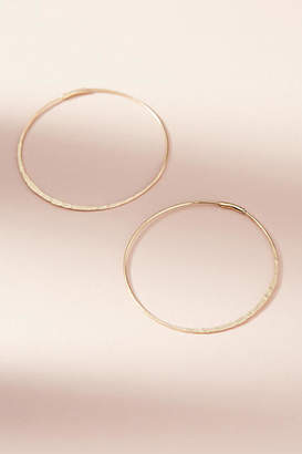 Anthropologie Isabel Medium Hoop Earrings
