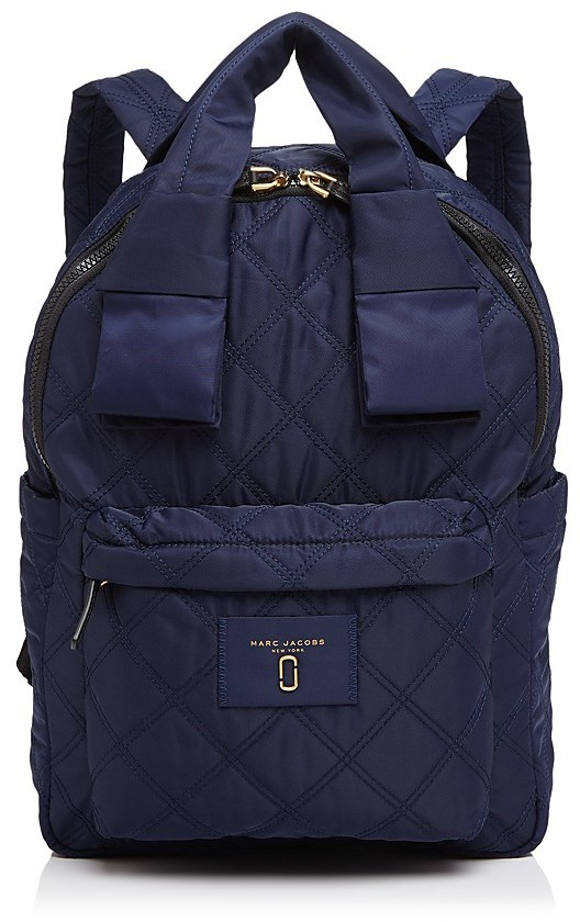 Marc JacobsMARC JACOBS Knot Large Quilted Nylon Backpack