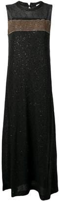 Brunello Cucinelli sequin embellished dress