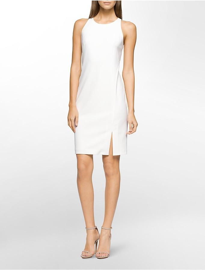 Calvin KleinHalter Sheath Dress