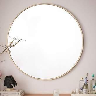 Everly Quinn Katsikis Round Accent Wall Mirror
