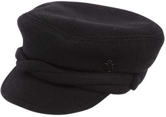 Maison Michel New Abby Wool Captain's Hat