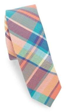 Appaman Kid's Plaid-Print Tie