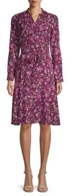 Nanette Lepore Floral Shirtdress