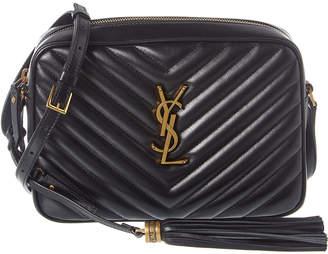 Saint Laurent Matelasse Leather Camera Bag
