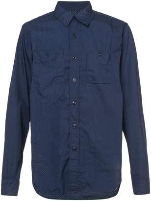 Engineered Garments polka dotted shirt
