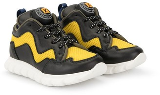 Fendi lace sneakers