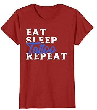 Eat Sleep Tattoo Repeat T-Shirt