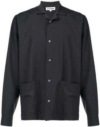 Jil Sander lapel collar shirt