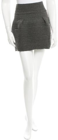 Balenciaga Balenciaga Wool Mini Skirt
