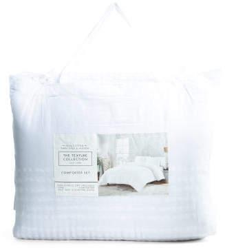 Zola Texture Comforter Set
