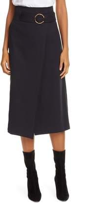 A.L.C. Aldridge Belted Midi Skirt