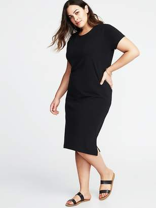 Old Navy Relaxed Plus-Size Midi Tee Dress