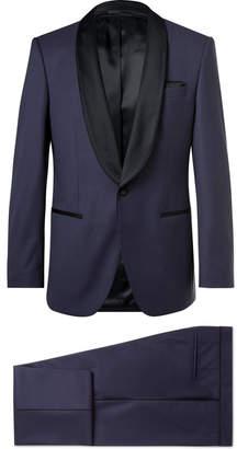 HUGO BOSS Henry Satin-Trimmed Virgin Wool Tuxedo