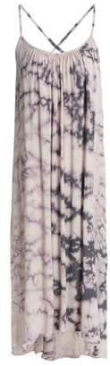 Kain Label Checked Cotton-Gauze Midi Dress