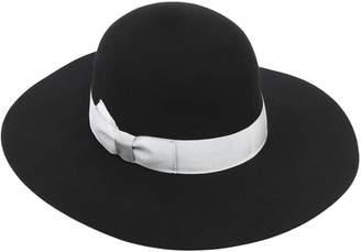 Federica Moretti Soft Wide Brim Felt Hat