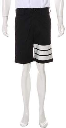 Y-3 Twill Flat Front Shorts w/ Tags