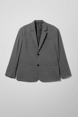 Weekday Eugen Suit Jacket - Grey