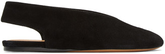 Isabel Marant Black Suede Malieke Flats $505 thestylecure.com