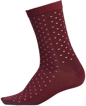 adidas Logo-Print Crew Socks