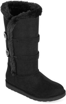ARIZONA Arizona Button Faux-Fur Boots $19.99 thestylecure.com