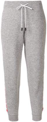 Zoe Jordan Rosi knitted slim-fit trousers