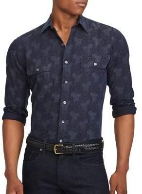 Polo Ralph Lauren Standard-Fit Cotton Button-Down Shirt