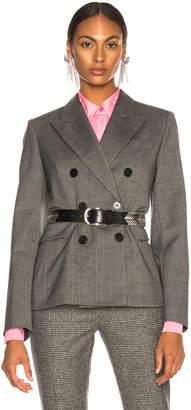 Isabel Marant Helsey Jacket in Grey | FWRD