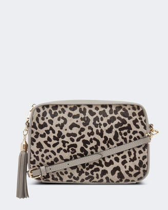 Ginger Pony Hair Crossbody Bag