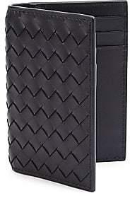 Bottega Veneta Men's Eight-Slot Leather Cardholder