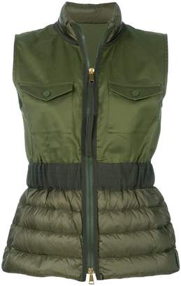 Moncler fitted gilet