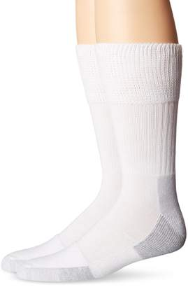 Dr. Scholl's Men's Advanced Relief Diabetic Crew 2 Pack Socks