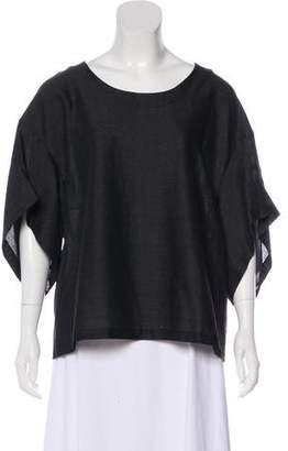 Marni Short Sleeve Wool Top