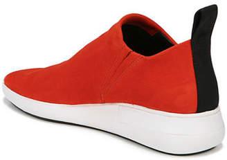 Via Spiga Marlow Stretch-Suede Sock Sneakers