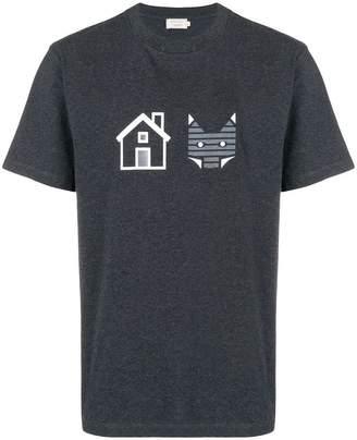 MAISON KITSUNÉ house and fox T-shirt