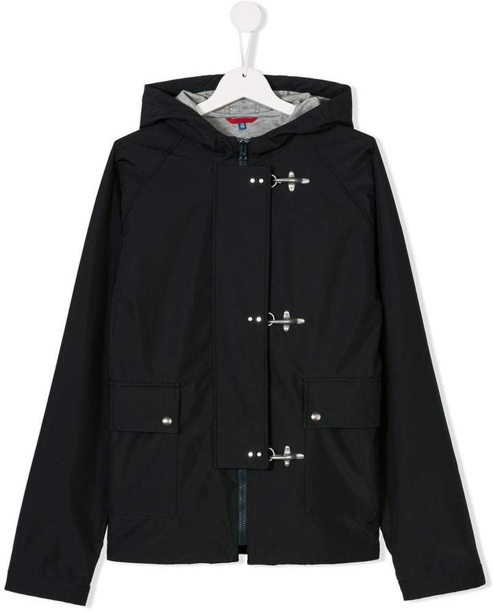 Fay Kids hooded duffle jacket