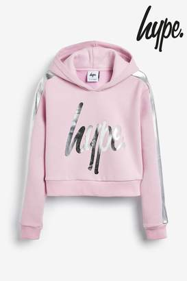 Hype Girls Panel Hoody - Purple