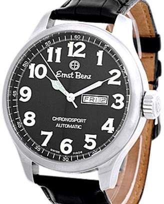 "Ernst Benz Chronosport"" Gent's Stainless Steel Mens Watch"