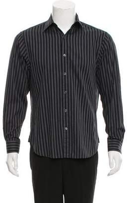 Michael Kors Striped Button-Up Shirt