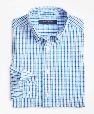 Brooks Brothers Boys Cotton Seersucker Sport Shirt