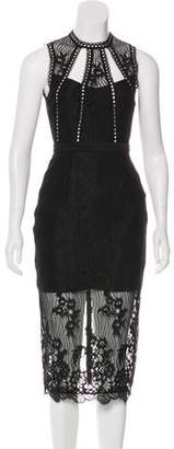 Alexis Bryana Lace Midi Dress