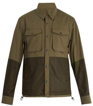 Moncler - Ander Point Collar Cotton Jacket - Mens - Green