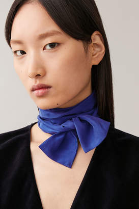 Cos SLIM MULBERRY SILK SCARF