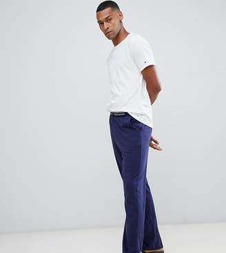 Tommy Hilfiger crew neck t-shirt and PANTS pyjama set in white and navy