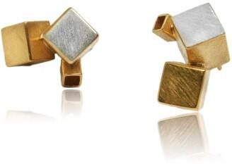 Karolina Bik Jewellery Fujimoto Earrings Gold