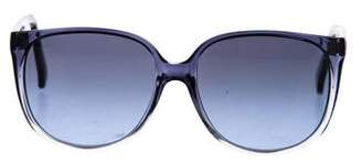 Dolce & Gabbana Ombré Square Sunglasses