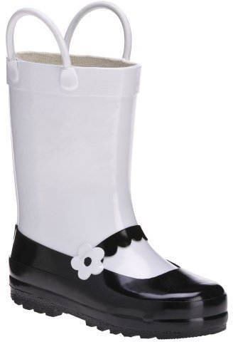 Kids' Uli Mary Jane Rain Boots - White